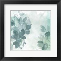Watercolor Leaves 1 Framed Print