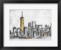 City Of Gold 2 Framed Print