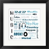 Framed Music 1
