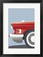 American Vintage Car III Framed Print