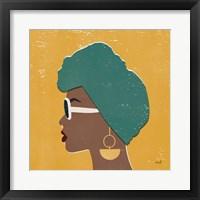 Kenya Couture II Bright Framed Print