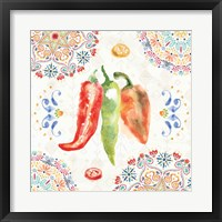 Sweet and Spicy III Framed Print