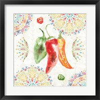 Sweet and Spicy II Framed Print