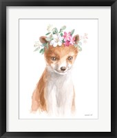 Wild for Flowers III Framed Print