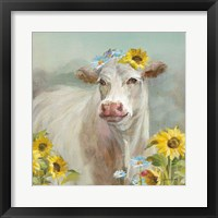 Framed Cow in a Crown