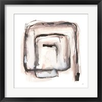 Lost in Squares I Framed Print