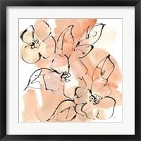 Terracotta Neutrals II Framed Print