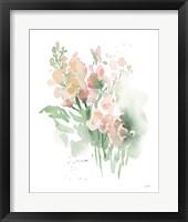Vibrant Blooms I Framed Print