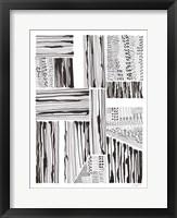 Lined Up I Framed Print