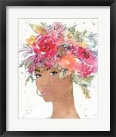 Floral Figures XI Framed Print