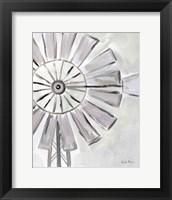 Framed Farmhouse Windmill