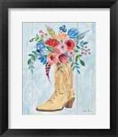 Cowgirl II Framed Print