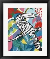 Framed Jungle Toucan