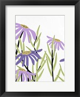 Purple Power 1 Framed Print
