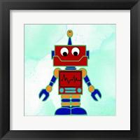 Robot 2 Framed Print