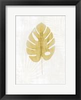 Palm Silhouette 1 Framed Print
