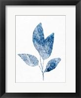 Marble Leaf 1 Framed Print