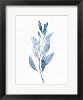 Marble Leaf 2 Framed Print