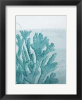 Seaside Card 1 V2 Framed Print