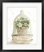 Floral Cloche I Framed Print