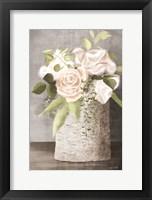 Framed Floral Birch