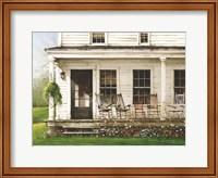 Framed Back Porch Gathering