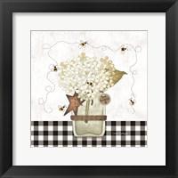 Bee Grateful Framed Print