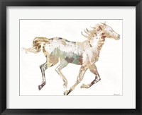 Framed Navajo Horse 1