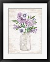 Framed Floral Bouquet 2