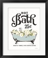 Framed Hot Bath