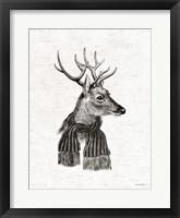 Framed Holiday Reindeer