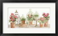 Terracotta Collection II Framed Print