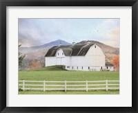 Framed Adirondack Farm