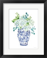 Chinoiserie Hydrangea II Framed Print