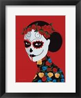 Framed Dia de Los Muertos II