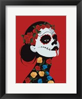 Framed Dia de Los Muertos I