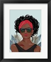 Strength and Beauty II Framed Print