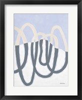 Loops II Framed Print