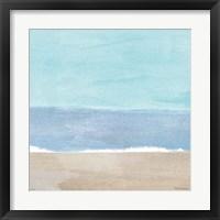 Soft Shores XI Framed Print