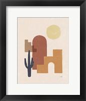 Desert Arches II Framed Print