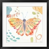 Winged Whisper V Framed Print