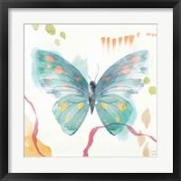 Winged Whisper III Framed Print