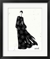 Style Sketches VIII Framed Print