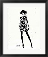 Style Sketches IV Framed Print
