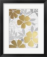 Golden Nature 3 Framed Print