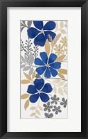 Floral Neutral Bunch 1 Framed Print