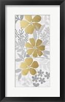 Floral Golden Bunch 1 Framed Print