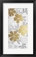 Floral Golden Bunch 2 Framed Print