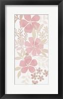 Soft Floral Bunch 1 Framed Print