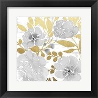 Gold Mid Day Bouquet 2 Framed Print